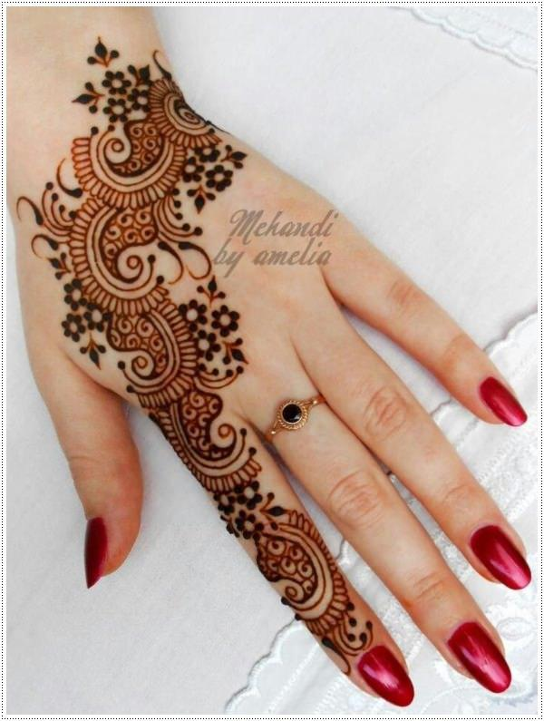 henna tattoo for eyebrows