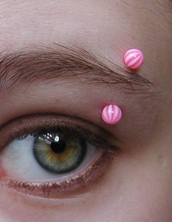 new eyebrow piercing