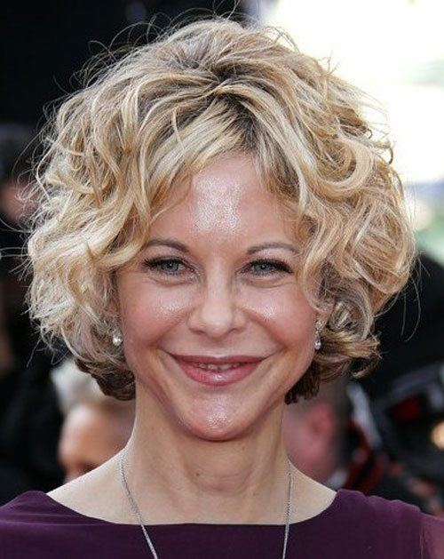 best hairstyles for over 50 curly hair women