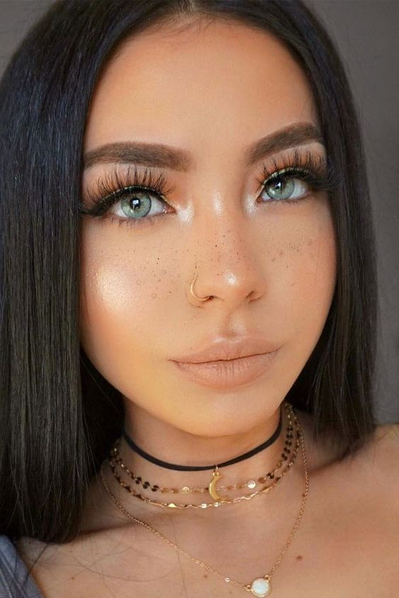 temporary nose ring style image