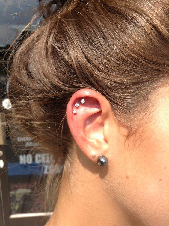 unique ear piercings for females