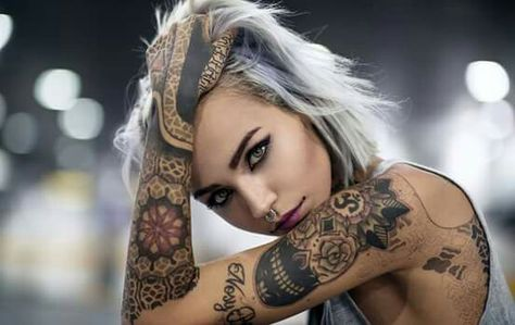 womens sexiest thigh tattoos