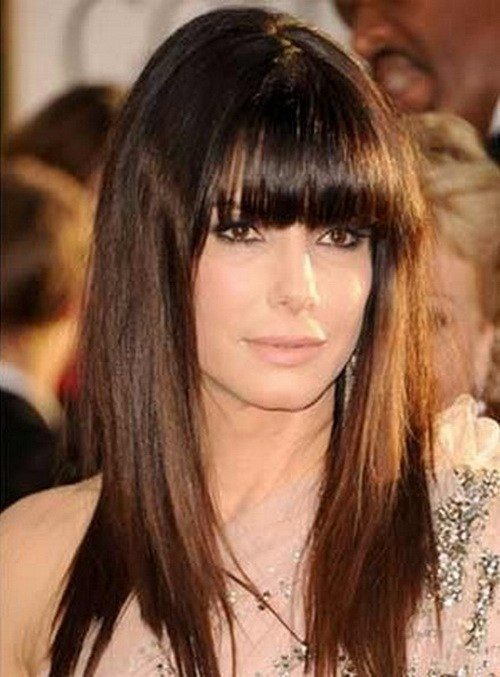 long hairstyles for over