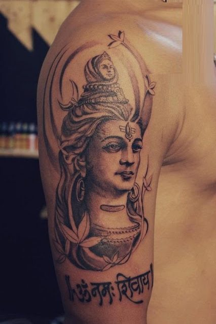 shiva tattoos for guys images ideas