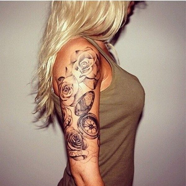 ladies sleeve tattoos designs images