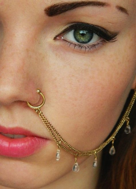 Simple Daily Use Nose Ring Designs