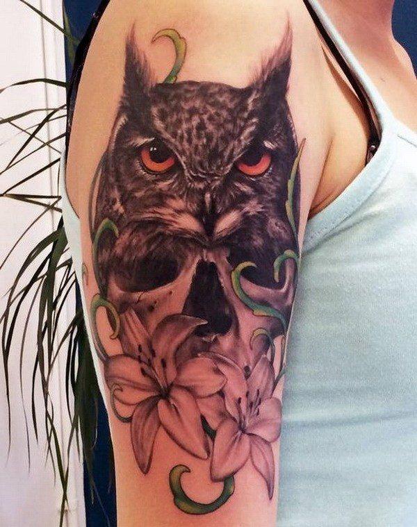 owl tattoo patterns