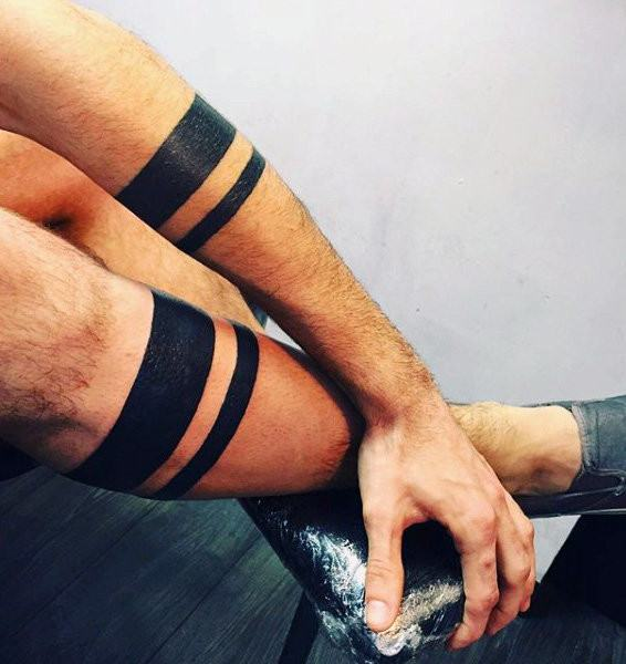 tribal band tattoo designs ideas for guys men