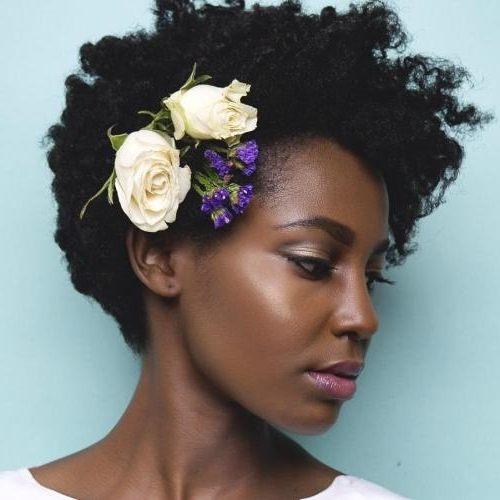 hairstyles for black flower girl