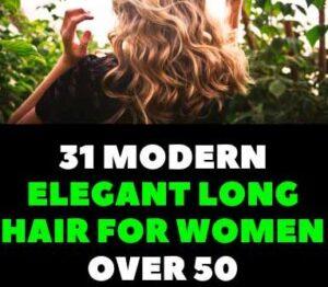 ELEGANT LONG HAIR HAIRSTYLES