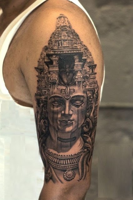 lord shiva tattoos designs