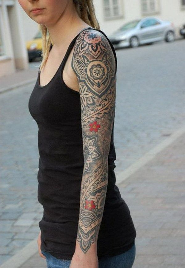 Sleeve tattoos for women is one