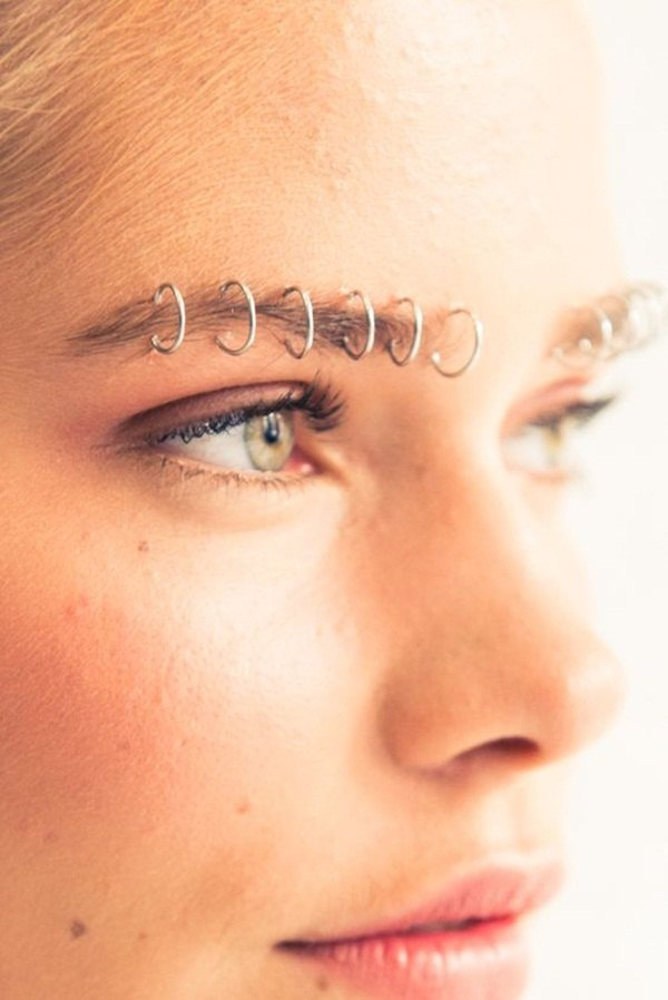unique eyebrow rings
