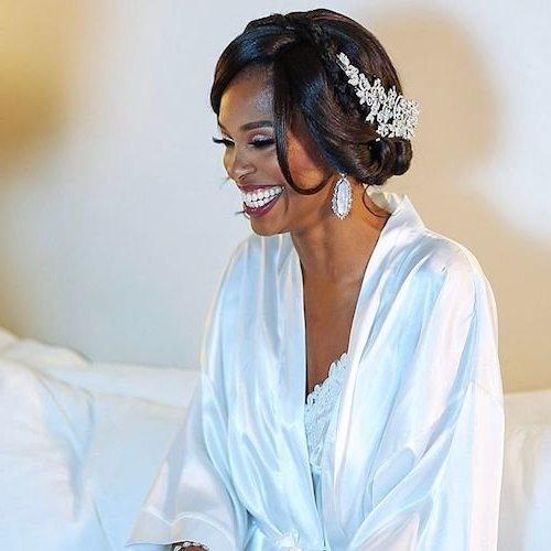 bridesmaid hairstyles black girl