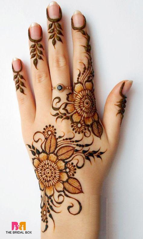 hand henna tattoo designs for women