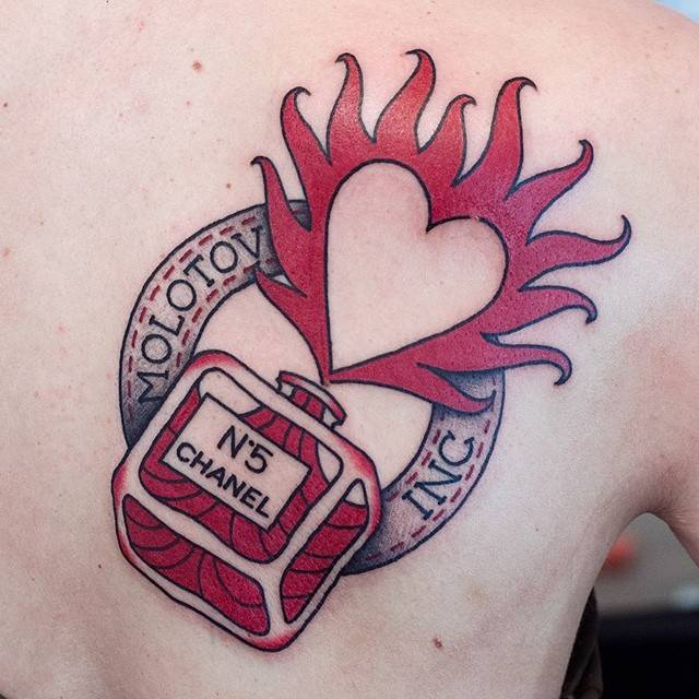 temporary heart tattoos