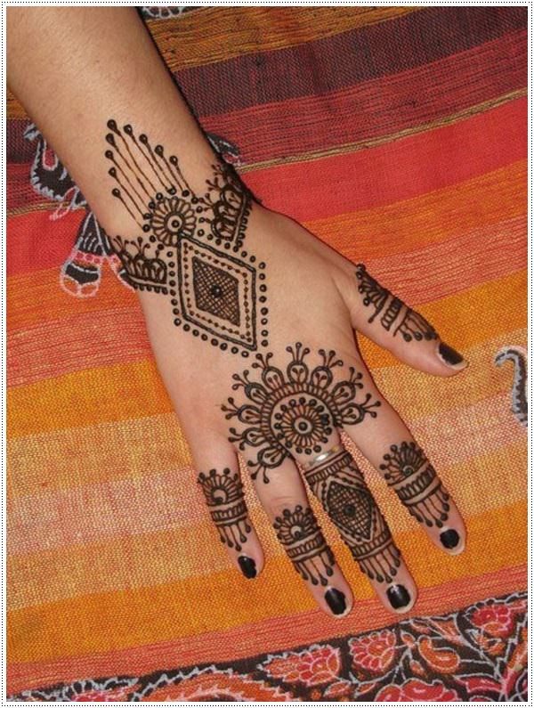 women's henna hand tattoos design ideas
