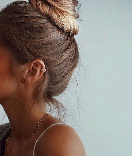 how to hide ear piercings from school