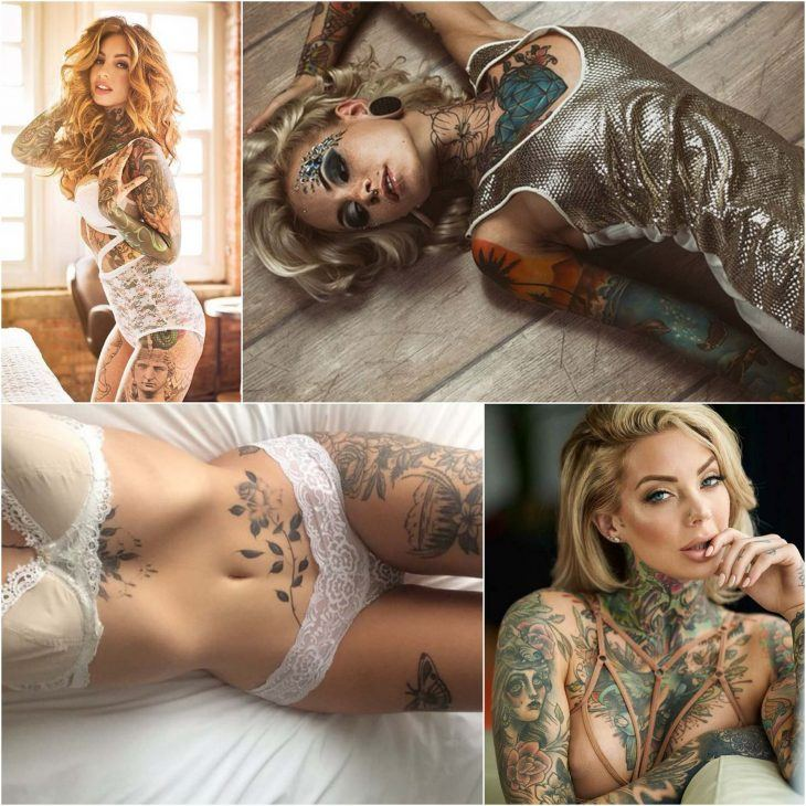 Hot sexy lady tattoo design images