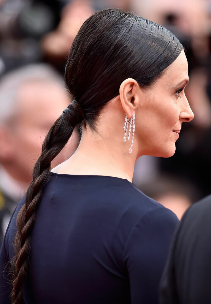 medium hairstyles for long faces over 50