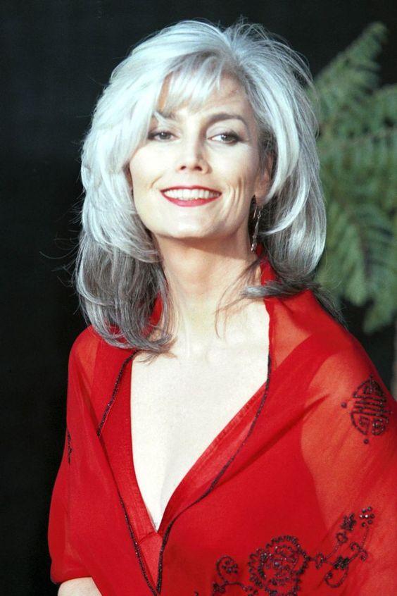 best longer hair for older ladies style