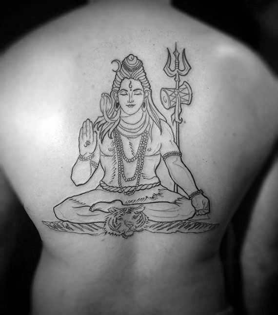 best shiva tattoo designs on beck men