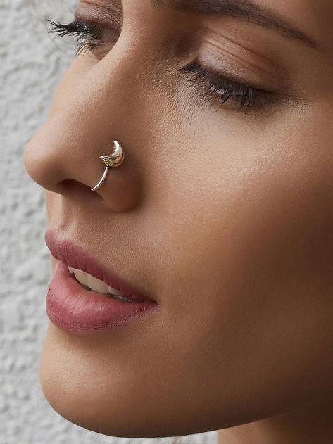 nose piercing side