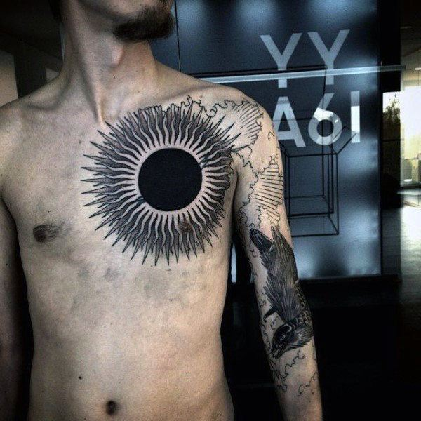 sun tattoo pictures