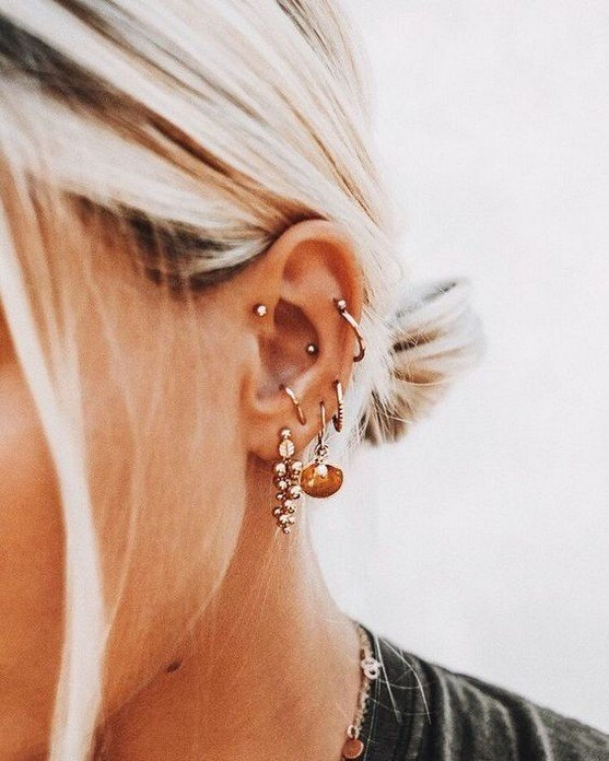 ear piercings for migraines