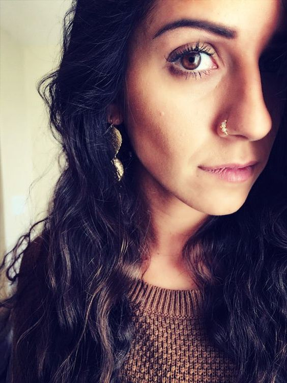 nose piercing style