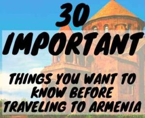 traveling To Armenia