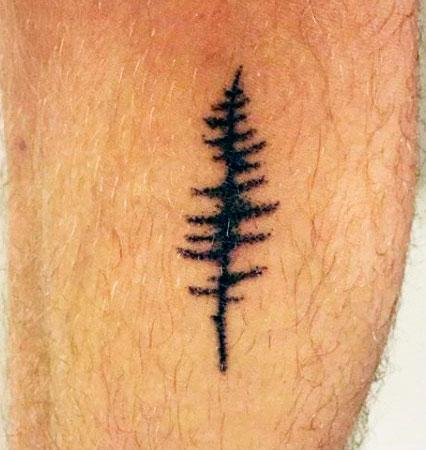 Small and Stunning tree Tattoo Ideas