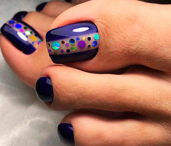Check out cool toenail designs that are sure to get your ideas