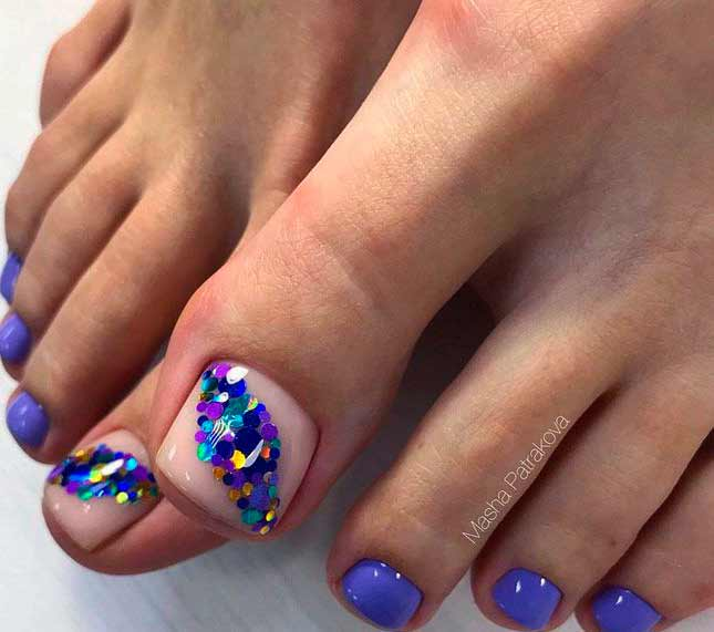 Sandal season is near so there's no reason not to do some nail art