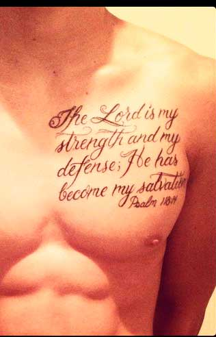 Religious Tattoos For Men