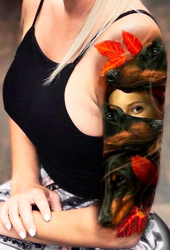 Best upper arm tattoos images