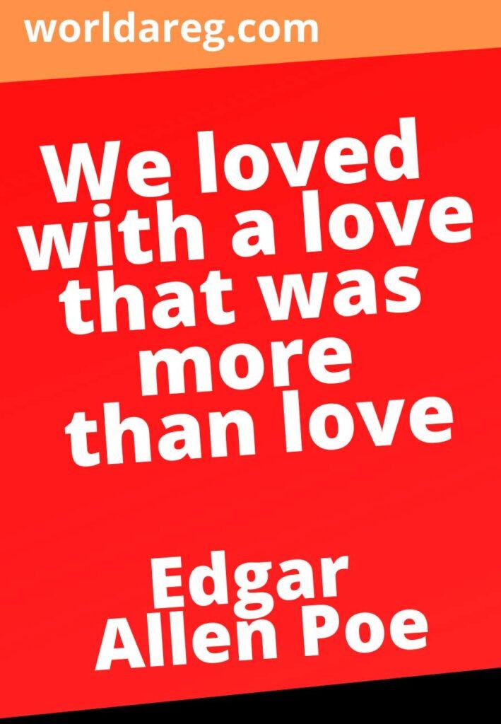 quotes  Edgar Allen Poe