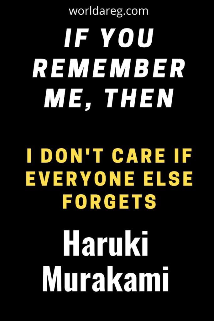 quotes  Haruki Murakami,