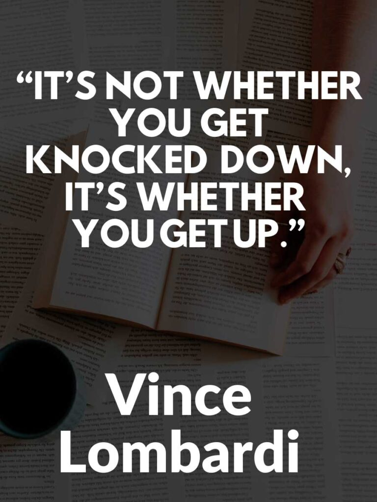 Powerful Vince Lombardi Quotes