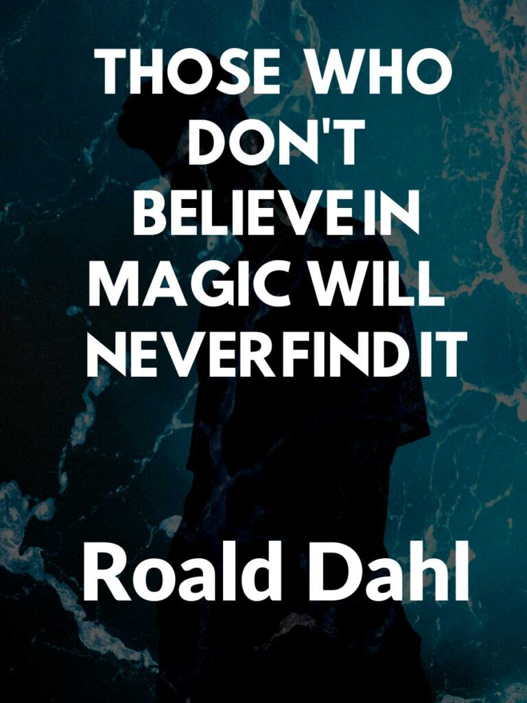 Roald Dahl Quotes and Sayings