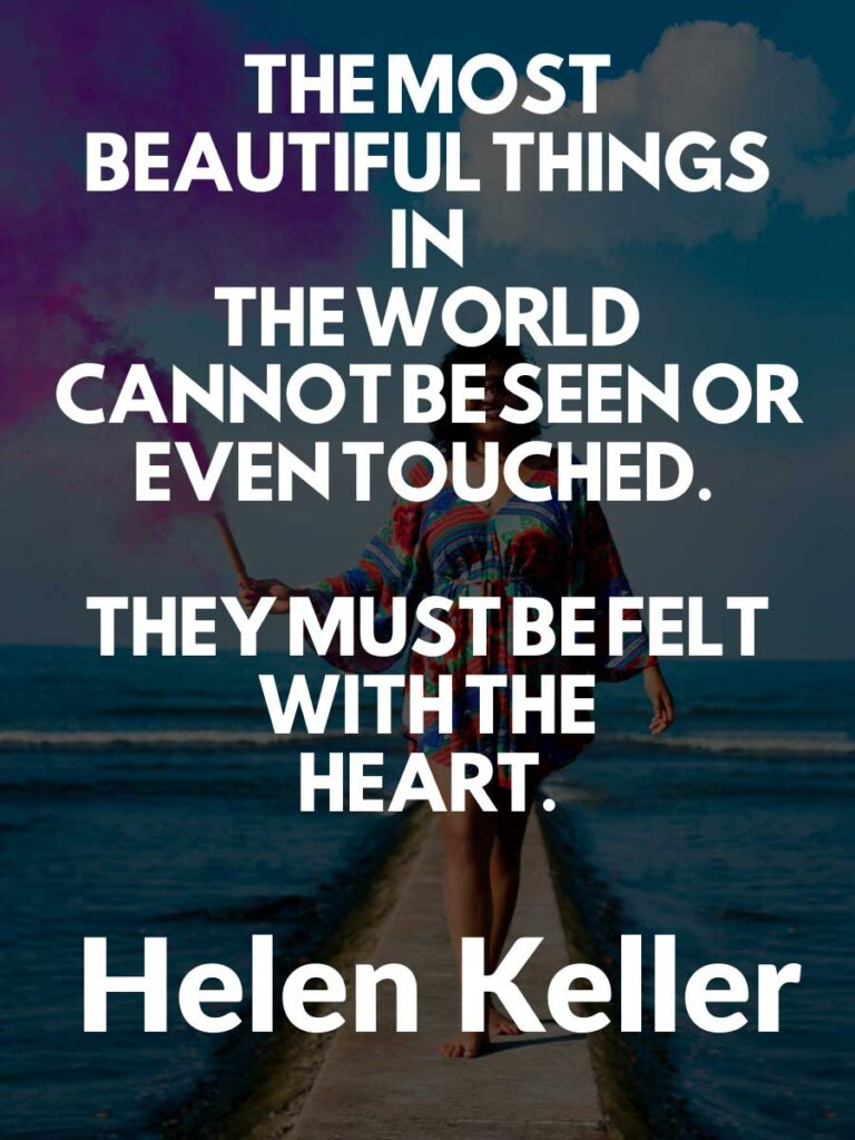 Inspirational Helen Keller Quotes