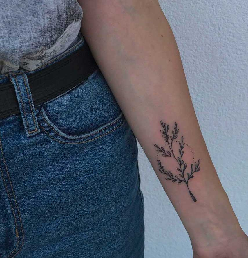 tattoo flowers arm
