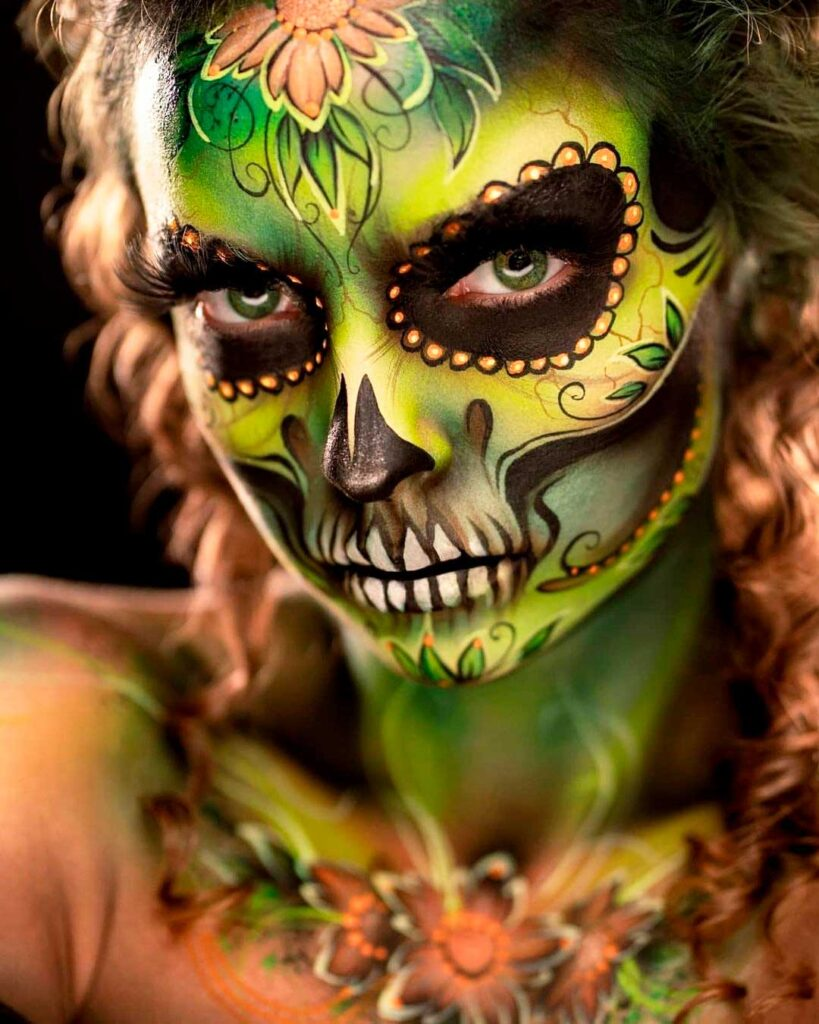 face and body painting art photo