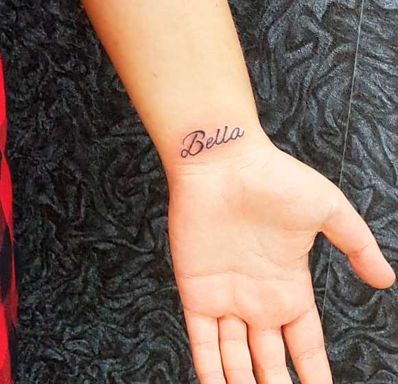 name tiny tattoos with meaning for girl and women