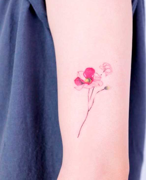 good flowers for tattoos