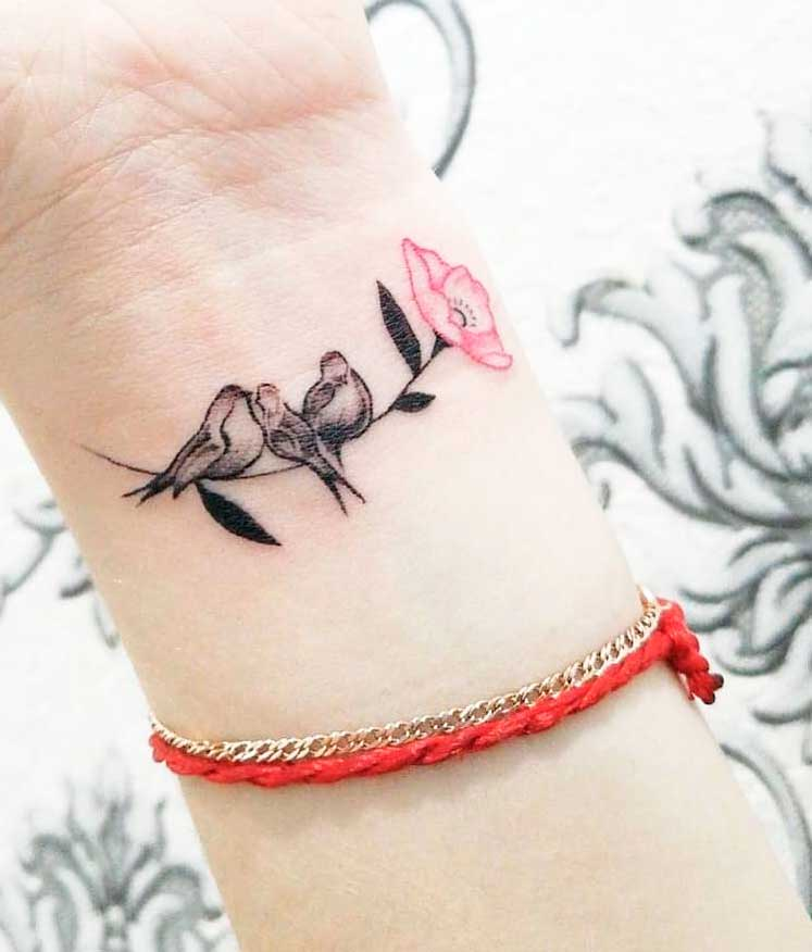Girl Arm Tattoo Images