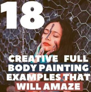 Creative (18 ) full body painting Examples That Will Amaze