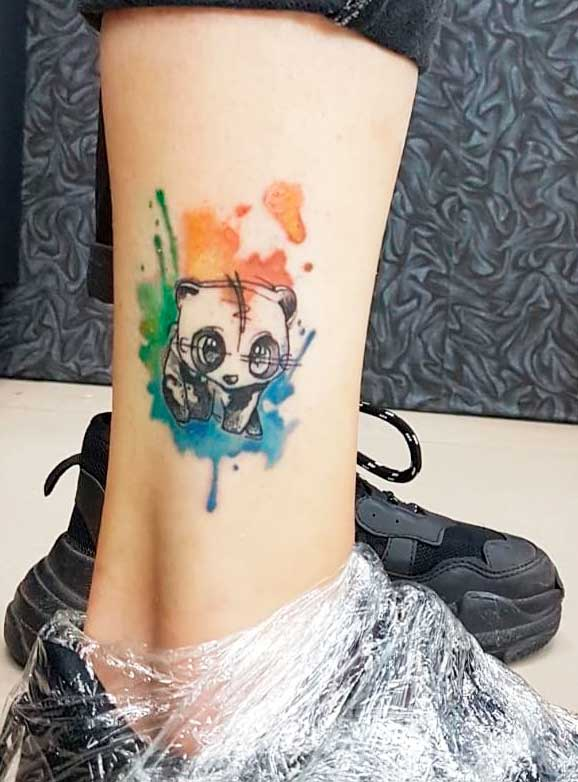 animals tattoo designs for women legs