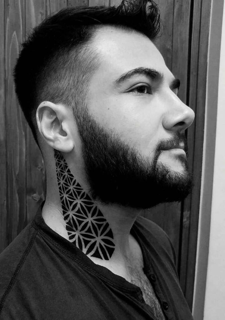 side neck tattoo ideas