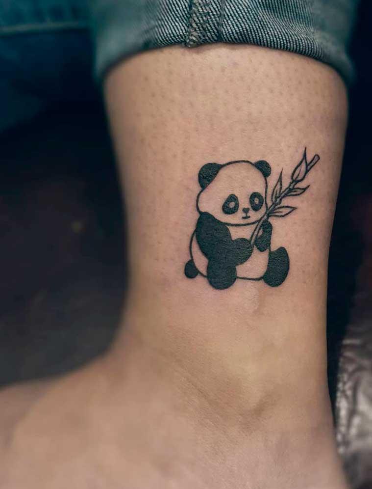 Animal feet tattoo ideas for females